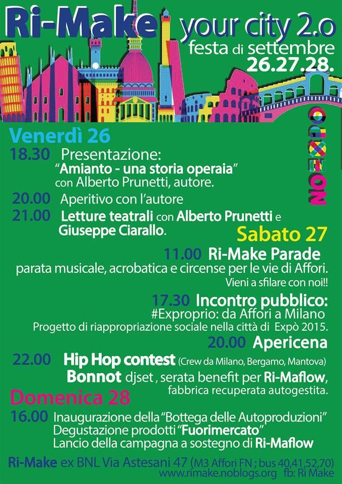 Ri-Make your city 2.0 _ Festa di Settembre