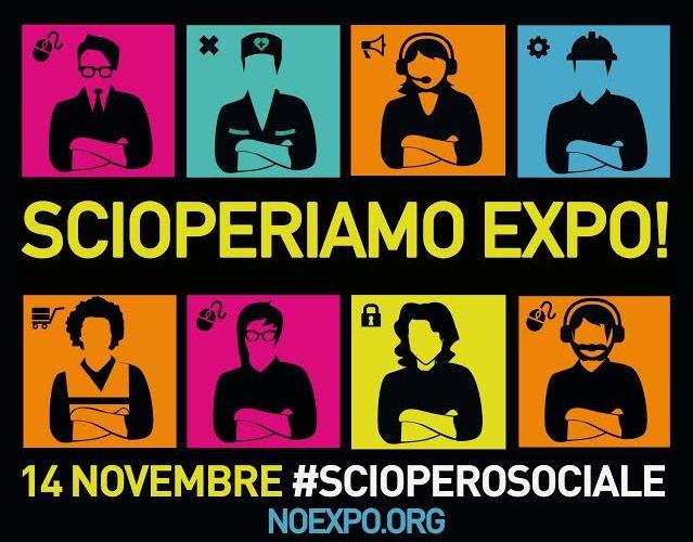 #14N scioperiamo #EXPO